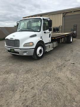 2005 Freightliner M2 Flatbed equipment hauler for sale in Becker, MN