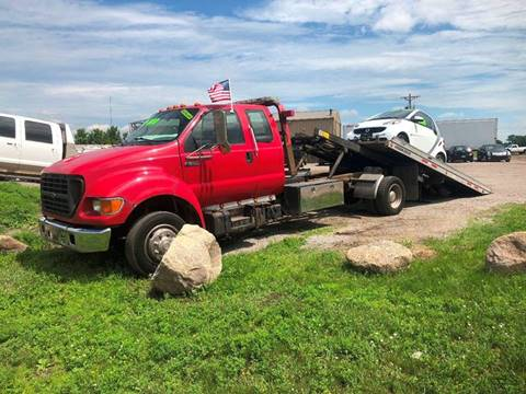 2002 Ford F-650 for sale in Becker, MN