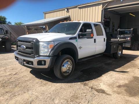 2015 Ford F-550 for sale at Motorsota in Becker MN