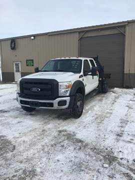 2012 Ford F-550 for sale in Becker, MN