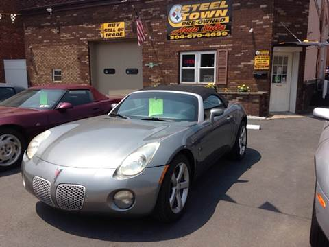 2006 Pontiac Solstice for sale in Weirton, WV