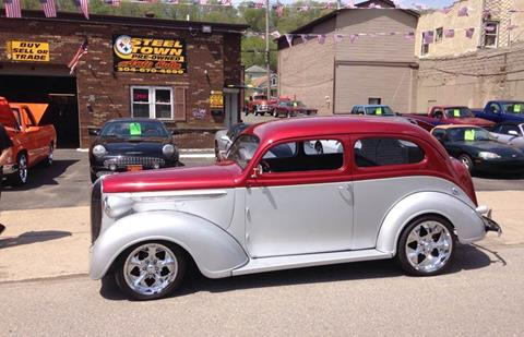 1938 Plymouth Deluxe for sale at STEEL TOWN PRE OWNED AUTO SALES in Weirton WV
