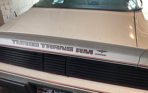1980 Pontiac Firebird Trans Am