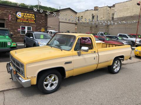 1984 GMC C/K 1500 Series for sale at STEEL TOWN PRE OWNED AUTO SALES in Weirton WV