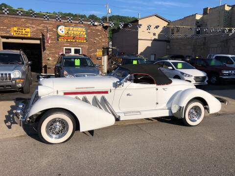 1935 AUBURN SPEEDSTER for sale at STEEL TOWN PRE OWNED AUTO SALES in Weirton WV