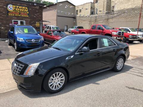 2012 Cadillac CTS for sale at STEEL TOWN PRE OWNED AUTO SALES in Weirton WV