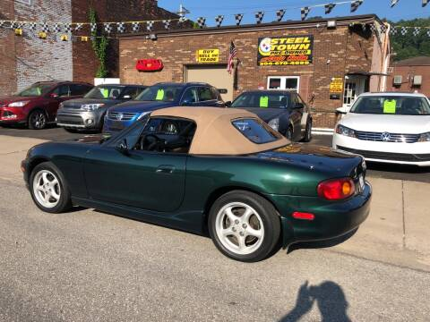 2000 Mazda MX-5 Miata for sale at STEEL TOWN PRE OWNED AUTO SALES in Weirton WV
