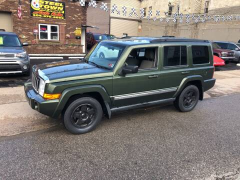2009 Jeep Commander for sale at STEEL TOWN PRE OWNED AUTO SALES in Weirton WV