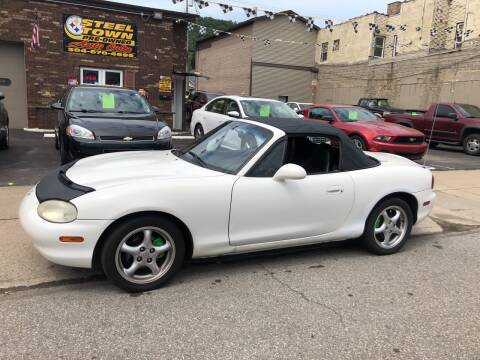 1999 Mazda MX-5 Miata for sale at STEEL TOWN PRE OWNED AUTO SALES in Weirton WV