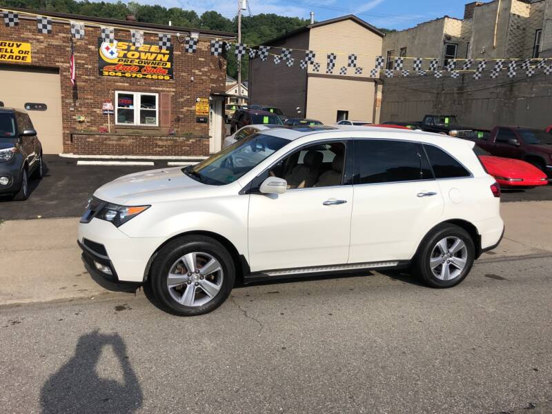 2012 Acura MDX for sale at STEEL TOWN PRE OWNED AUTO SALES in Weirton WV