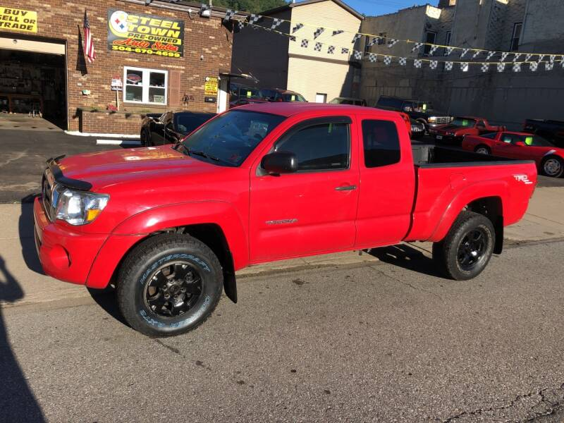 2005 Toyota Tacoma for sale at STEEL TOWN PRE OWNED AUTO SALES in Weirton WV
