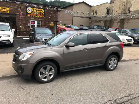 2012 Chevrolet Equinox for sale at STEEL TOWN PRE OWNED AUTO SALES in Weirton WV