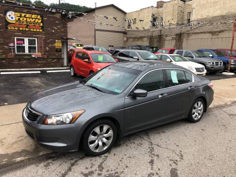 2009 Honda Accord for sale at STEEL TOWN PRE OWNED AUTO SALES in Weirton WV