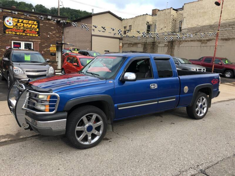 2004 Chevrolet Silverado 1500 for sale at STEEL TOWN PRE OWNED AUTO SALES in Weirton WV