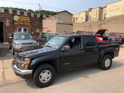 2005 Chevrolet Colorado for sale at STEEL TOWN PRE OWNED AUTO SALES in Weirton WV