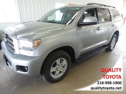 2017 Toyota Sequoia for sale in Fergus Falls, MN