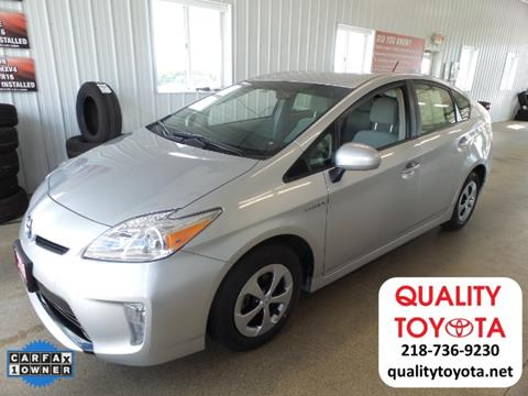 2015 Toyota Prius for sale in Fergus Falls MN