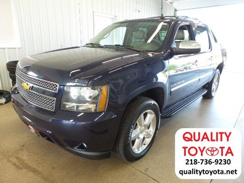 2012 Chevrolet Avalanche for sale in Fergus Falls MN