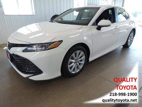 2018 Toyota Camry for sale in Fergus Falls MN