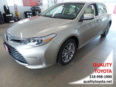 2018 Toyota Avalon for sale in Fergus Falls, MN