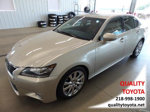 2013 Lexus GS 350 for sale in Fergus Falls MN