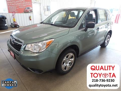 2014 Subaru Forester for sale in Fergus Falls MN
