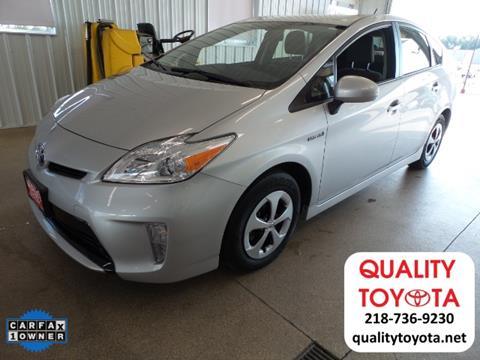 2015 Toyota Prius for sale in Fergus Falls, MN