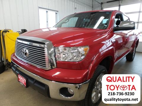 2011 Toyota Tundra for sale in Fergus Falls MN