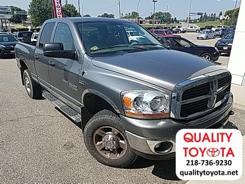 2006 Dodge Ram Pickup 2500 for sale in Fergus Falls MN