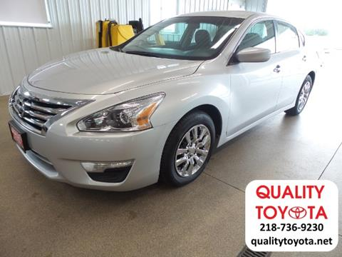 2014 Nissan Altima for sale in Fergus Falls MN