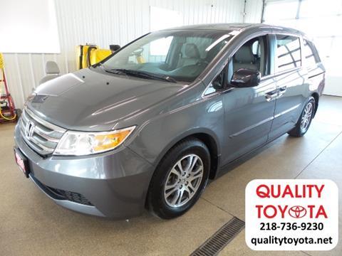 2012 Honda Odyssey for sale in Fergus Falls MN