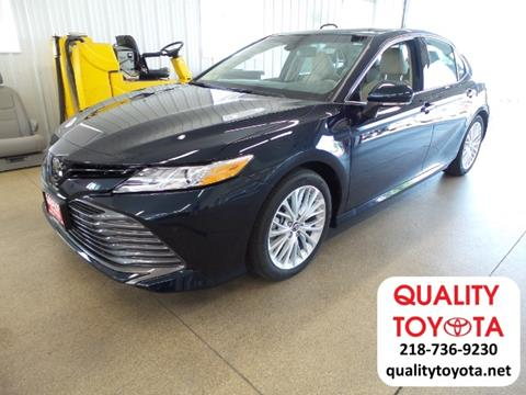 2018 Toyota Camry for sale in Fergus Falls, MN