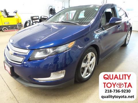2012 Chevrolet Volt for sale in Fergus Falls MN