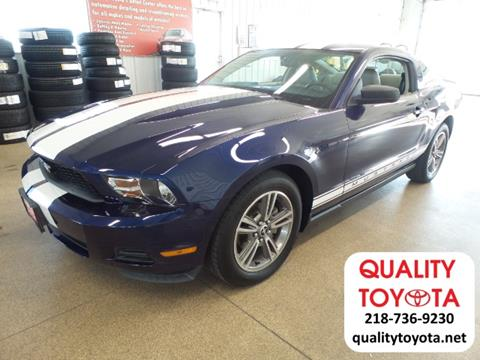 2010 Ford Mustang for sale in Fergus Falls, MN