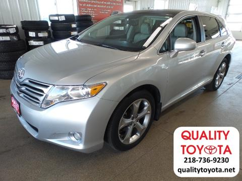 2012 Toyota Venza for sale in Fergus Falls MN