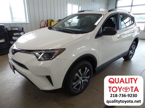 2018 Toyota RAV4 for sale in Fergus Falls, MN