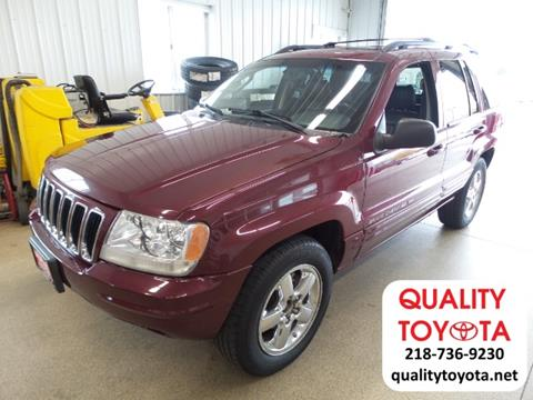 2003 Jeep Grand Cherokee for sale in Fergus Falls MN