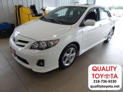 2012 Toyota Corolla for sale in Fergus Falls, MN