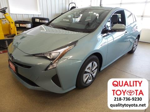 2017 Toyota Prius for sale in Fergus Falls, MN