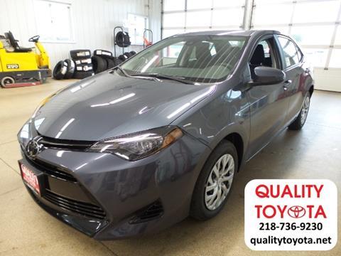 2018 Toyota Corolla for sale in Fergus Falls, MN