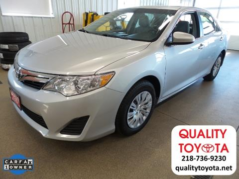 2012 Toyota Camry for sale in Fergus Falls MN