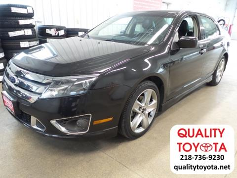 2010 Ford Fusion for sale in Fergus Falls MN