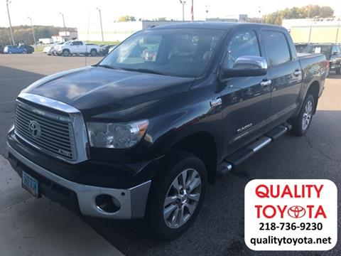 2012 Toyota Tundra for sale in Fergus Falls MN
