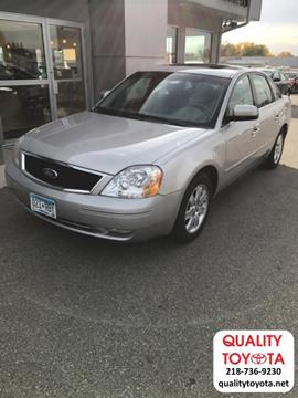 2006 Ford Five Hundred for sale in Fergus Falls, MN