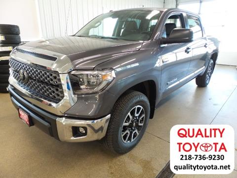 2018 Toyota Tundra for sale in Fergus Falls MN