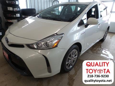 2016 Toyota Prius V For Sale In Fergus Falls, MN