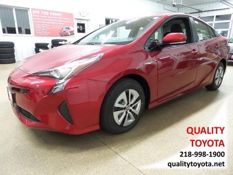 2017 Toyota Prius for sale in Fergus Falls MN