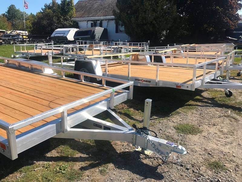 2020 SPORT HAVEN UTILITY TRAILERS ALUMIUM   - Ticonderoga NY