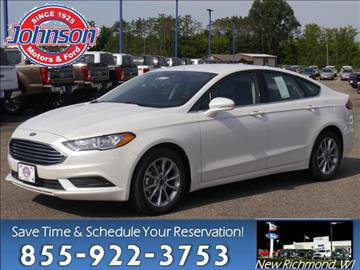 2017 Ford Fusion for sale in New Richmond, WI