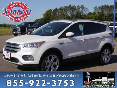 2017 Ford Escape for sale in New Richmond, WI